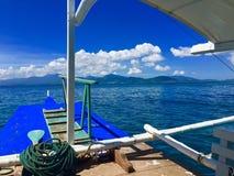 Tour de bateau au paradis Images libres de droits