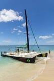Tour de bateau de catamaran de Waikiki photo stock