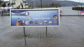 Tour de bateau de windermere de cartmel de lacs Photos libres de droits