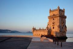 Tour de Belem à Lisbonne photos stock