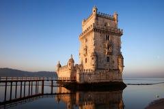Tour de Belem à Lisbonne image stock