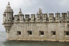 Tour de Belem à Lisbonne, Portugal images libres de droits