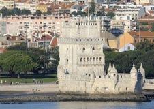 Tour de Belem au Portugal Photo libre de droits