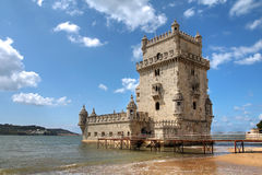 Tour de Belem, Lisbonne, Portugal Photographie stock libre de droits