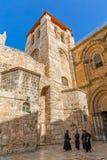 Tour de Bell - église de la tombe sainte photographie stock