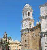 Tour de Bell de cathédrale de diz de ¡ de CÃ de loin Photographie stock