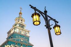 Tour de Bell de l'église orthodoxe image libre de droits