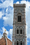 Tour de Bell du Duomo, Florence, Italie Photos libres de droits