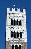 Tour de Bell du San Martino Cathedral à Lucques Photo libre de droits