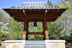 Tour de Bell japonaise de jardin de Sasebo photographie stock libre de droits