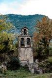 Tour de Bell près du village Prcanj montenegro photo libre de droits