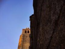 Tour de Bells, cathédrale de vora de ‰ de à Photos libres de droits