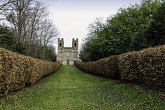 Tour de belvédère, jardin de paysage de Claremont, Esher, R-U photos libres de droits