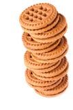 Tour de biscuit Images libres de droits