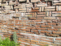 Tour de Burana mur antique de brique Photos libres de droits