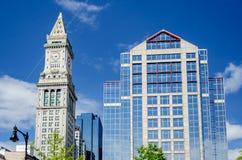 Tour de bureau de douane, Boston Photo libre de droits