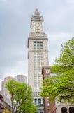 Tour de bureau de douane, Boston Images stock