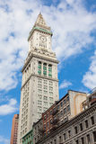 Tour de bureau de douane de Boston, le Massachusetts - Etats-Unis Photographie stock libre de droits