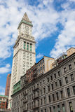 Tour de bureau de douane de Boston, le Massachusetts - Etats-Unis Photographie stock