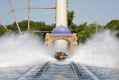 Tour de caboteur de l'eau Photo stock