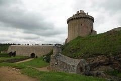 Tour de cachot au latte de La de fort en Bretagne, France photos stock