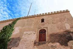 Tour de Calahorra à Elche, Alicante, Espagne Image stock