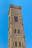 Tour de cathédrale de Florence (Di Firenze de Duomo) Photographie stock