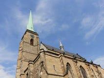 Tour de cathédrale de St Bartholomew Photographie stock