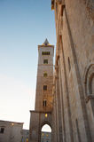 Tour de cathédrale de Trani, Puglia, Italie Photographie stock