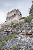 Tour de château dans l'ocio Images libres de droits