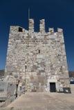 Tour de château de Bodrum Photo stock
