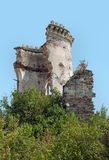 Tour de château de Chervonohorod, Ukraine Photo stock