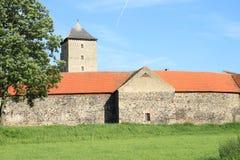 Tour de château de Svihov Photographie stock