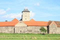Tour de château de Svihov Images libres de droits