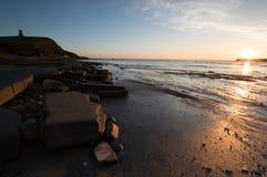 Tour de Clavell au coucher du soleil Photo libre de droits