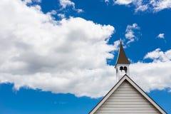 Tour de cloche d'église photo libre de droits