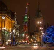 Tour de cloche de colline du Parlement Image stock