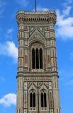 Tour de cloche de FLORENCE Italy par Giotto un artiste italien près du C Photo libre de droits