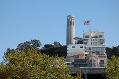 Tour de Coit Image stock