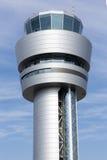 Tour de communication d'aéroport Photographie stock libre de droits