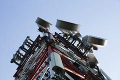 Tour de communications Photographie stock libre de droits