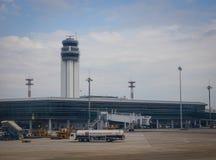 Tour de contrôle à l'aéroport dans Saigon, Vietnam Images stock