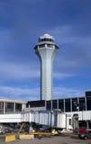 Tour de contrôle d'aéroport Image libre de droits