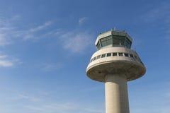 Tour de contrôle dans l'aéroport de Barcelone, Catalogne, Espagne Images stock
