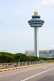 Tour de contrôle de Changi Photo stock