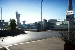 Tour de contrôle - aéroport d'Istanbul Atatürk Images stock