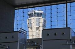 Tour de contrôle, aéroport de Malaga. Photos libres de droits