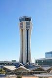 Tour de contrôle, aéroport de Malaga. Photo libre de droits