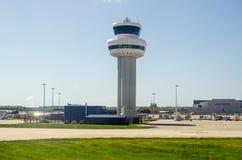 Tour de contrôle d'aéroport de Gatwick Photos libres de droits