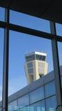 Tour de contrôle d'aéroport de Malaga Photographie stock
